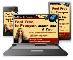 The flagship Feel Free to Prosper Audio Program