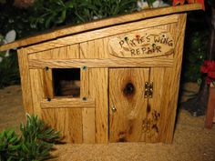 Fairy Garden Wing Repair Shop by PixiesPatch on Etsy