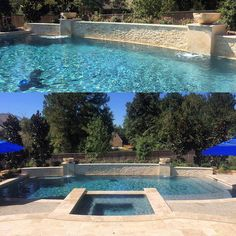 A Marmiro Stones favorite Afyon Cloud sandblasted pool ...