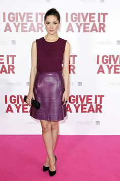 Rose Byrne at the #Sydney premiere of her new film 'I Give it One Year', held at the Event Cinemas, Sydney 1/15/13