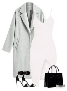 """Untitled #88"" by creative1124 ❤ liked on Polyvore featuring Yves Saint Laurent, M2Malletier and Fallon"