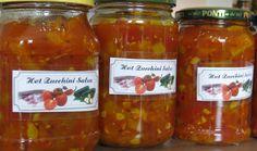 Meine kleine Welt: Hot Zucchini Salsa