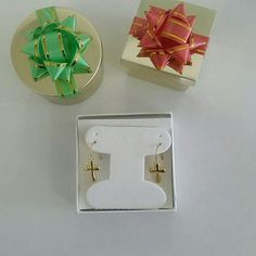 925 sterling silver cross earring 925 sterling silver cross earrings . stamped 925. Brand new Jewelry Earrings