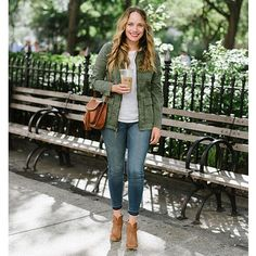 The Stripe by Grace Atwood Cool & Casual Look fall