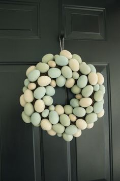 Love this egg wreath!