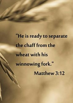 Matthew 3:12 Inspirational Bible Quotes, Bible Verses Quotes, Bible Scriptures, Bible Doctrine, Thy Word, Word Of God, Women Of Faith, Quotes About God, Christian Quotes