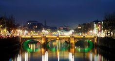 dublin ireland | ... bridge over the river liffey in dublin ireland design pics corbis