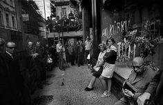 Josef Koudelka CZECHOSLOVAKIA. Prague. August 1968. Warsaw Pact troops invade Prague.