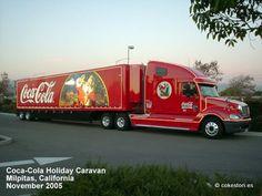 "2005 Coca-Cola Holiday Caravan ""Vixen"" in Milpitas, California"