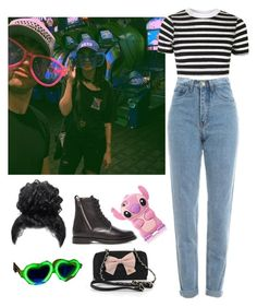 """""""Ashzaylea + 500 point glasses"""" by lil-emo-guru ❤ liked on Polyvore featuring Topshop, WALL, Betsey Johnson, Yves Saint Laurent, 5sos, ashtonirwin, ashton, 5thmember and Arzaylea"""