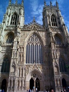 York Minster, Gothic cathedral, one of my favorite cathedrals in England