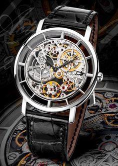 Patek Philippe Calatrava 5180T skeleton watch