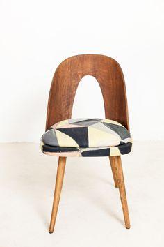 Yellow / Peach / Grey Edition of TATRA Chair by Thonet | Studio Fabrika