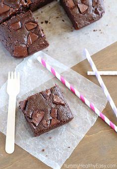 Junk food healthy : Brownie au chocolat sans beurre - On veut de la junk food healthy ! - Elle à Table