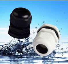 PG7 Cable Gland Connector  Waterproof Nylon Plastic for 3-6.5mm Cable CE high quality with rubber ring 10PCS