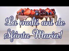Mesaj de Sfânta Maria. La multi ani de Sfânta Maria! - YouTube Youtube, Food, Essen, Meals, Youtubers, Yemek, Youtube Movies, Eten