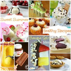 Have Some Fun with these Sweet Summer Fun Healthy Recipes www.fooddonelight.com #summerdesserts #popsiclerecipes #Healthydessert