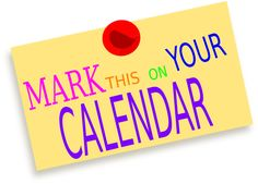 mark your calendar http stampcandy net classes 4510 stamp rh pinterest com Mark Your Calendar Upcoming Events mark your calendar clipart black and white