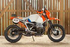 #BMW R nineT GS concept based on their 1985 Paris-Dakar winning machine