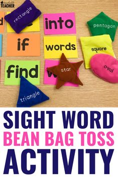 Sight word activities can be fun and engaging for preschool, kindergarten, first grade, 2nd, and 3rd grade students in the classroom. These are my favorite hands on activities that require NO worksheets. Get the free flashcards and you're ready to play!