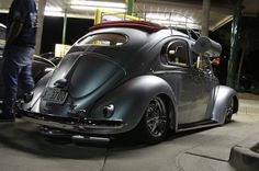 Classic Aircooled and Air Conditioned VW Bug Oval Window