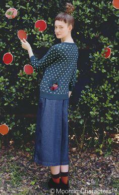 Little My cardigan : #kawaii: Mori Girl / 森ガール / Natural-kei / ナチュラル系 : #Japan #Japanese #MoriGirl #NaturalKei