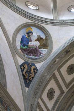 "Evangelist ""tondos"" by Brunelleschi, via Flickr."