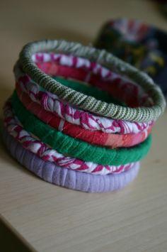 T-Shirt Bracelets :)