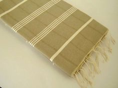 Traditional Turkish Towel Peshtemal Natural Soft by TheAnatolian, $28.00