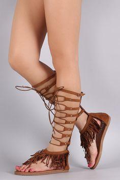 4696d974dba Material  Vegan Suede (man-made)Sole  Rubber Measurement Heel Height  Flat  (approx)Shaft Length  (including heel). Women s FeetFlat Gladiator SandalsBoho  ...