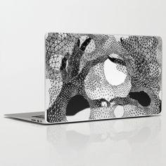 Kosmos Black&White Laptop & iPad Skin by Keka Delso - $30.00