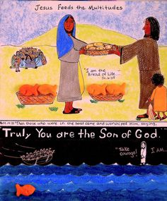 Jesus Feeds the Multitudes