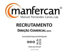 """A Associação Empresarial de Águeda divulga o  Recrutamento para a """"MANFERCAN - Manuel Fernandes Canas, Lda."""" _____________ANÚNCIO_____________ https://www.facebook.com/180305488683047/photos/a.197609600285969.48389.180305488683047/1033884229991831/?type=3&theater ou em www.aea.com.pt   Faça LIKE em https://www.facebook.com/pages/Associação-Empresarial-de-Águeda/180305488683047 E  Acompanhe o FACEBOOK da AEA com mais informações úteis sobre: EMPREGOS, FORMAÇÃO, EMPREENDEDORISMO, etc."""