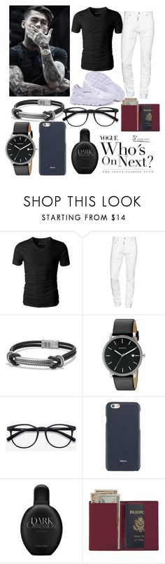 """Stephen James 😊"" by royaltygon ❤ liked on Polyvore featuring Murphy, Dsquared2, David Yurman, Skagen, EyeBuyDirect.com, Valextra, Calvin Klein, Royce Leather, men's fashion and menswear"