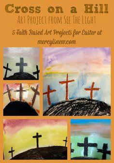 5 Faith Based Art Projects for Easter @mercyisnew.com