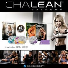 Chalean Extreme  Workout DVD fitness-programs