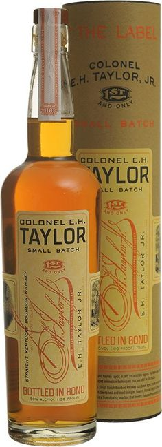 Very interesting.. May have to try this when I get a chance. Colonel E.H. Taylor, Jr. Small Batch Bourbon | @Caskers