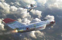 Mig-15 Korean War- 'Mig Alley' (Antonis Karidis)