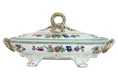 19th C. English Ironstone Tureen from England