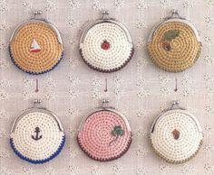 Crochet coin wallet