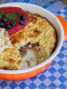 Sweet breakfast treats: Jaglana szarlotka.