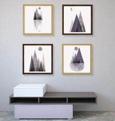 Set of Prints, Set of 4 Prints, Print Set, Mountains, Minimalist Poster, Scandinavian Prints, Scandinavian Art, Affiche Scandinave, Nordic THESE ARE INSTANT DOWNLOADS – Your files will be available immediately after purchase. :::: How it works :::: 1. Purchase this listing 2. Once you are on the download page, you will receive an email with the download link 3. Download & save/unzip the file 4. Print your artwork instantly at home, or better still, take the file to your local print...
