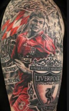 Very cool LFC tattoo