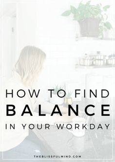 To find more fulfillment in our work lives, we can look at whether we are working in alignment with our mind, body, and soul. Keep reading to find out how! http://theblissfulmind.com/2017/03/19/balance-at-work/