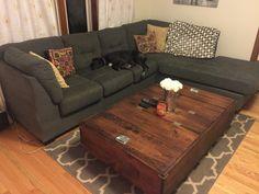 DIY Large Coffee Table with Storage - Imgur