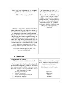 003 SemiDetailed Lesson Plan in English 6 I. Objectives At