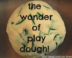 the benefits of play dough - from The Imagination Tree