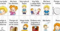 cartel de responsabilidades en casa para niños en material foami - Buscar con Google