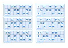 19 Ideas De Bingo Cartones De Bingo Bingo Para Imprimir Bingo