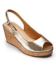 9e4dee9fe3ed6 Sole Diva Slingback Wedges EEE Fit Wide Width Shoes
